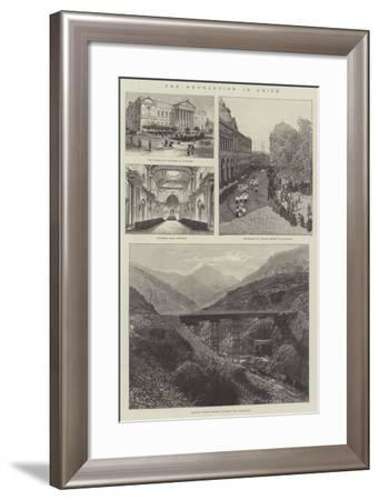 The Revolution in Chile--Framed Giclee Print