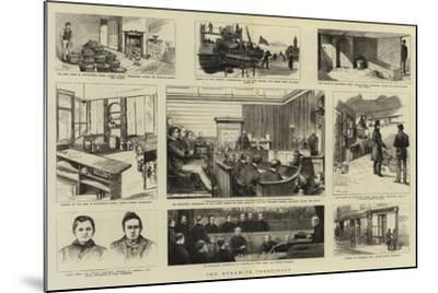 The Dynamite Conspiracy--Mounted Giclee Print