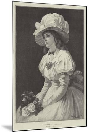 Grandmamma's Portrait--Mounted Giclee Print