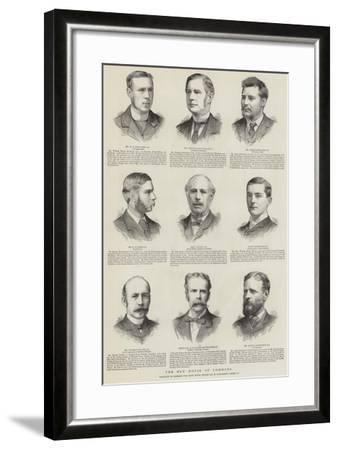 The New House of Commons--Framed Giclee Print