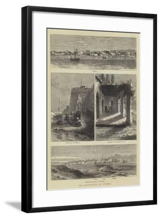 The Occupation of Cyprus--Framed Giclee Print