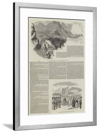 First Anglo-Afghan War--Framed Giclee Print
