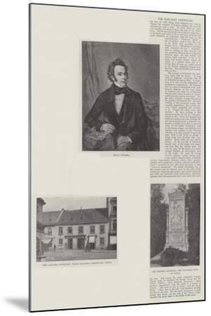 The Schubert Centenary--Mounted Giclee Print