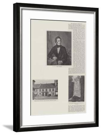 The Schubert Centenary--Framed Giclee Print
