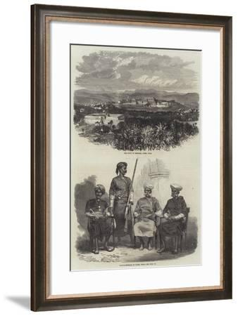 Sketches in Coorg, India--Framed Giclee Print
