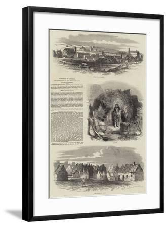 Condition of Ireland--Framed Giclee Print