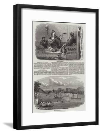 Sketches in Turkey--Framed Giclee Print
