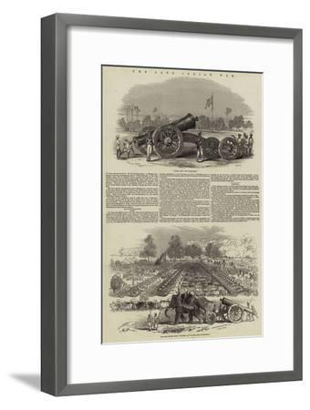 The Late Indian War--Framed Giclee Print