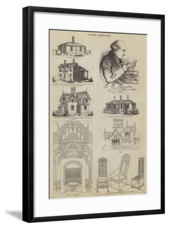 Cottage Architecture--Framed Giclee Print