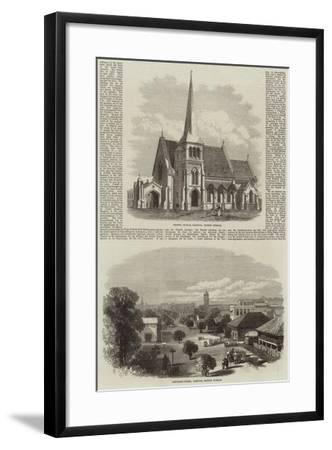 Scenes in Rangoon--Framed Giclee Print