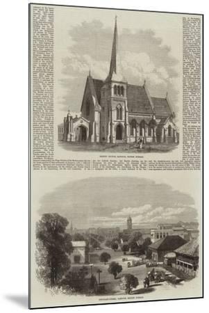 Scenes in Rangoon--Mounted Giclee Print