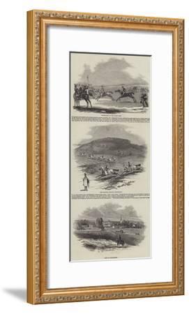 Newmarket Racecourse--Framed Giclee Print