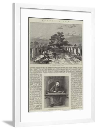 Sketches in China--Framed Giclee Print