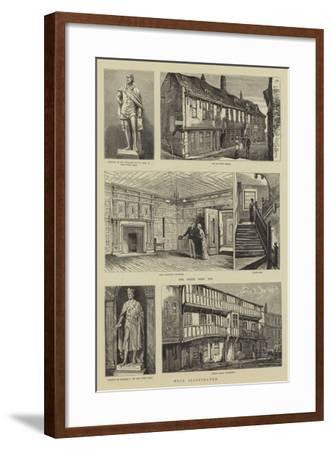 Hull Illustrated--Framed Giclee Print
