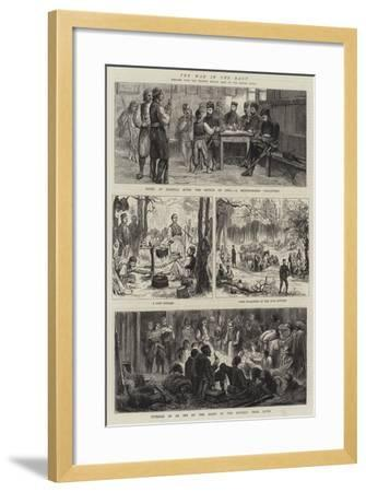 The War in the East--Framed Giclee Print
