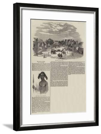 The Zulus of Natal--Framed Giclee Print