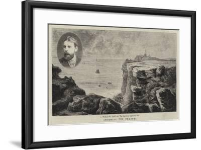 Swimming the Channel--Framed Giclee Print