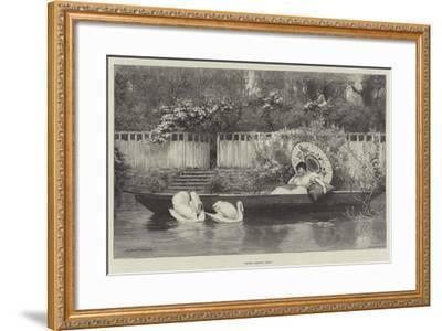 Sweet Summer Days--Framed Giclee Print