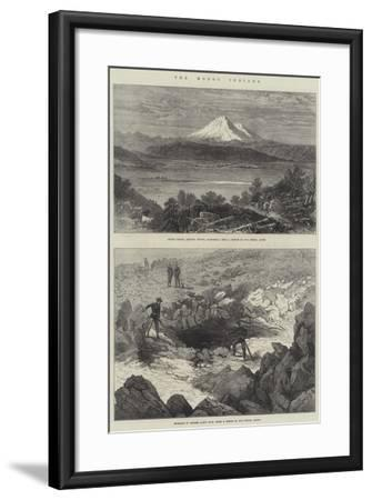 The Modoc Indians--Framed Giclee Print
