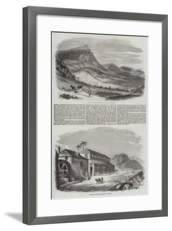 Sketches of Granada--Framed Giclee Print