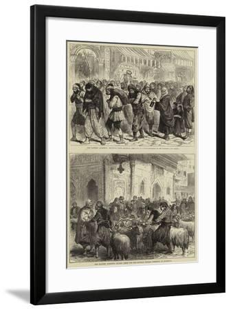 The Eastern Question--Framed Giclee Print