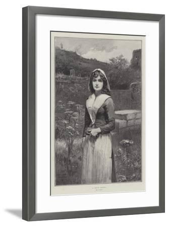 A Pretty Puritan--Framed Giclee Print