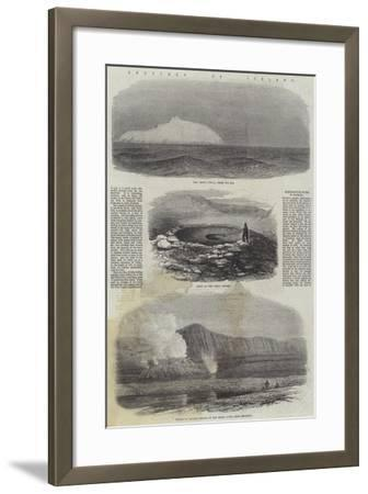 Sketches of Iceland--Framed Giclee Print