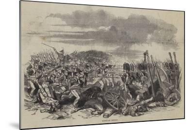 Battle of Vittoria--Mounted Giclee Print