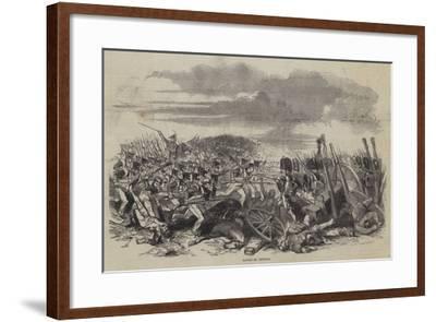 Battle of Vittoria--Framed Giclee Print