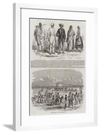 En Route for China--Framed Giclee Print