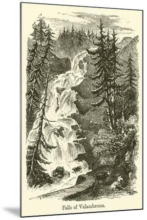 Falls of Valambrossa--Mounted Giclee Print