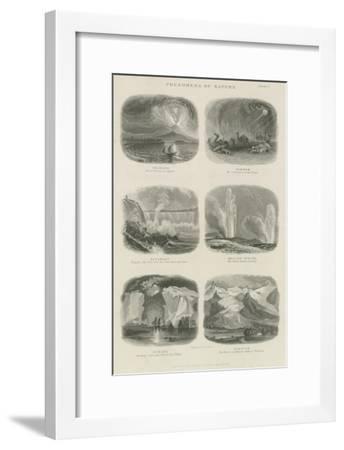 Phenomena of Nature--Framed Giclee Print