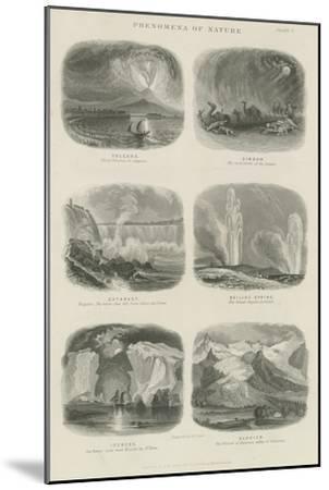 Phenomena of Nature--Mounted Giclee Print