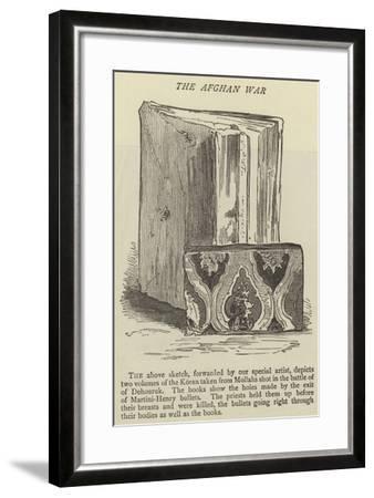 The Afghan War--Framed Giclee Print