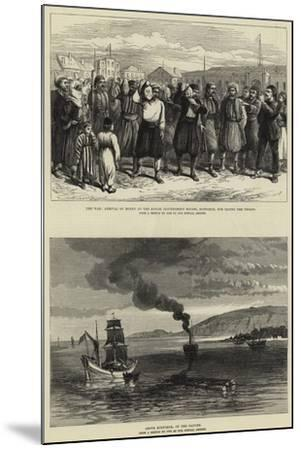 The War--Mounted Giclee Print