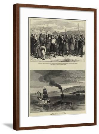 The War--Framed Giclee Print