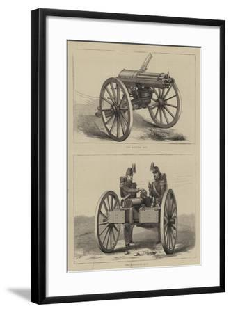 Military Weapons--Framed Giclee Print