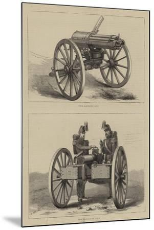 Military Weapons--Mounted Giclee Print