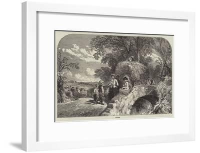 Autumn--Framed Giclee Print