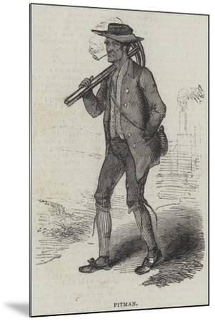 Pitman--Mounted Giclee Print