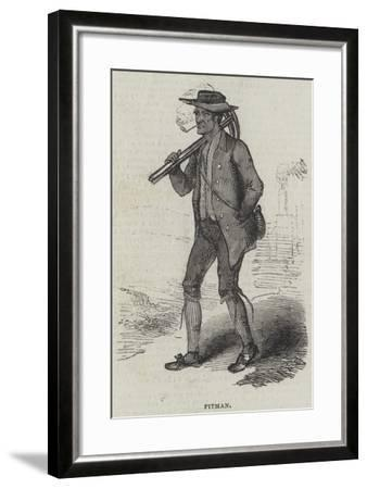 Pitman--Framed Giclee Print