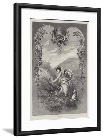 Summer--Framed Giclee Print