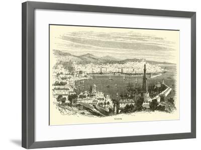 Genoa--Framed Giclee Print