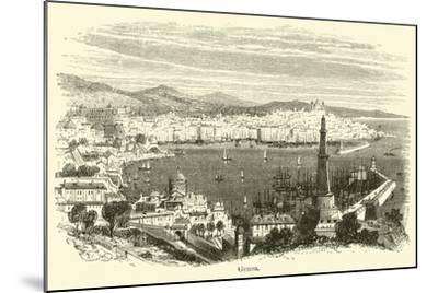 Genoa--Mounted Giclee Print