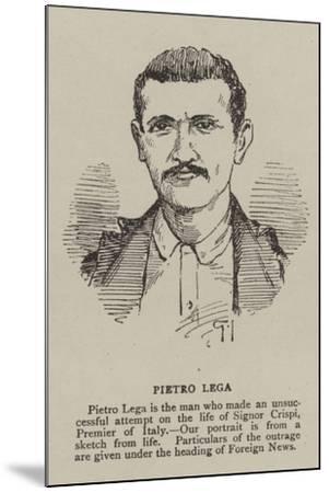 Pietro Lega--Mounted Giclee Print