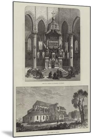 Pontigny Abbey--Mounted Giclee Print