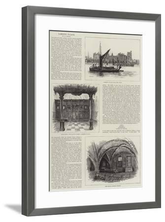 Lambeth Palace--Framed Giclee Print