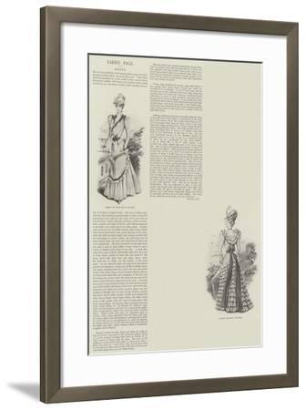 Ladies' Page--Framed Giclee Print