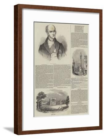 Earl Grey--Framed Giclee Print