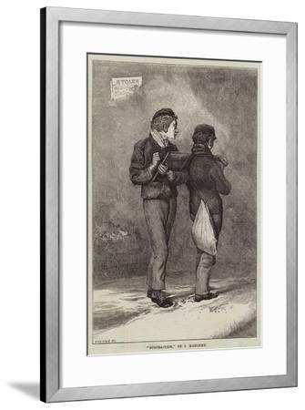 Subtraction--Framed Giclee Print